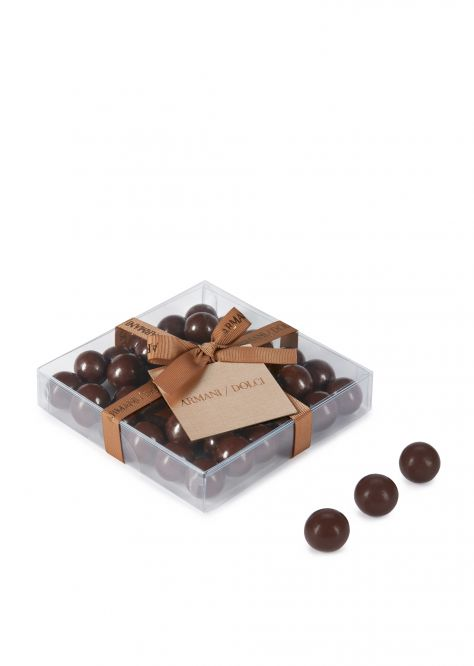 Dark chocolate hazelnut dragées 90g