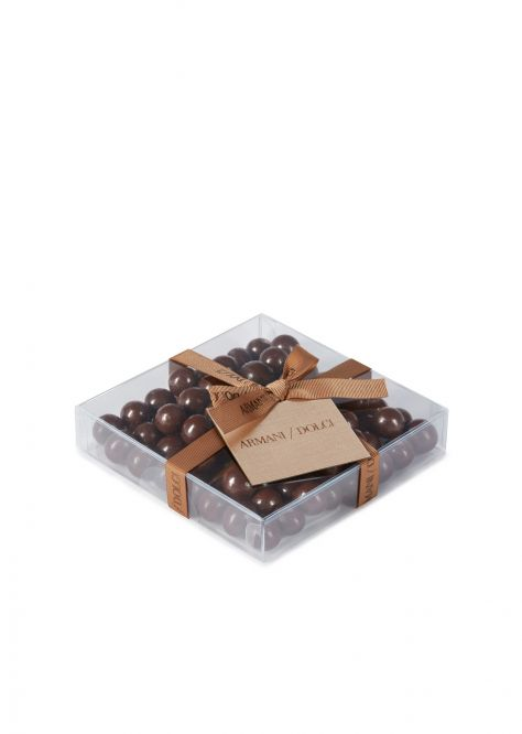 Dark chocolate coffee bean dragées 90g